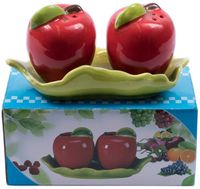 """Набор для специй """"Яблочки"""" (3 предмета)"""