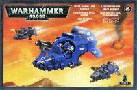 """Миниатюра """"Warhammer 40.000. Space Marine Land Speeder"""" (48-13)"""