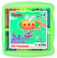 """Пастель масляная в боксе """"Oil Pastels"""" (24 цвета)"""