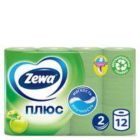 """Туалетная бумага Zewa Плюс """"Яблоко"""" (12 рулонов)"""