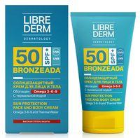 """Крем солнцезащитный для лица и тела """"С Омега 3-6-9 и термальной водой"""" SPF 50 (150 мл)"""