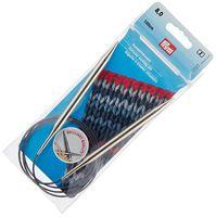 Спицы круговые для вязания (латунь; 8 мм; 100 см)