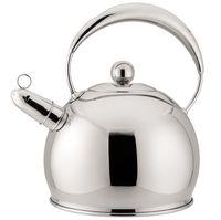 Чайник металлический со свистком (3 л; арт. Mr-1330)