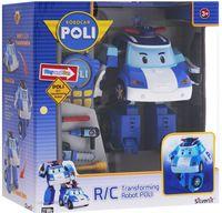 """Робот-трансформер на радиоуправлении """"Поли"""" (со звуковыми и световыми эффектами)"""