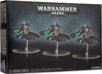 """Миниатюра """"Warhammer 40.000. Necrons Destroyer Squadron"""" (новая версия) (49-08)"""
