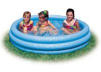 Бассейн надувной детский (147*33 см, пластик)