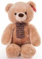 """Мягкая игрушка """"Медведь медовый с бантом"""" (69 см)"""