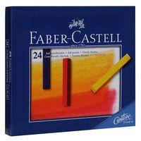 Мягкие мелки GOFA в картонной коробке (24 цвета)