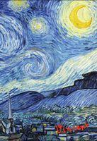 """Блокнот """"Ван Гог. Звездная ночь"""" (А5)"""