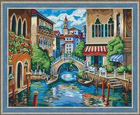 """Картина по номерам """"Отдых в Венеции"""" (400х500 мм)"""