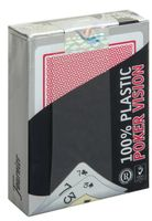 "Карты для покера ""Fournier Poker Vision"" (красная рубашка)"