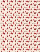 """Простыня хлопковая """"Merry Christmas"""" (210х220 см)"""