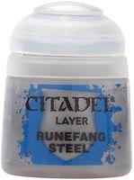 """Краска акриловая """"Citadel Layer"""" (runefang steel; 12 мл)"""