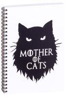 """Блокнот в клетку """"Мать котов"""" (А5; арт. 3270)"""