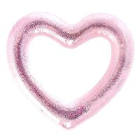 """Круг надувной """"Сердце"""" (90 см; розовое)"""