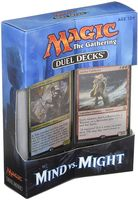 Magic the Gathering. Duel Deck. Mind vs Might