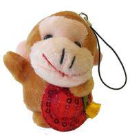 "Мягкая игрушка-брелок ""Обезьянка"" (5 см; арт. X7371)"