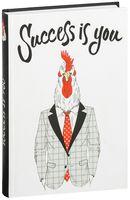"""Блокнот """"Success is you (Блокнот для хипстеров)"""" (А5)"""