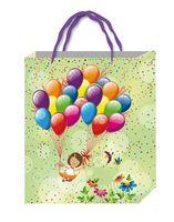 """Пакет пластиковый подарочный """"Детский"""" (в ассортименте; 21х17 см)"""