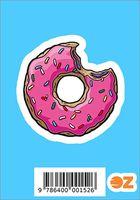 "Глянцевая наклейка ""Симпсоны. Пончик"" (арт. 152)"