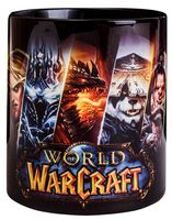"""Кружка """"World of Warcraft"""" (чёрная; арт. 3337)"""