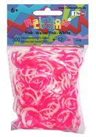 """Набор резиночек для плетения """"Rainbow Loom. Розово-белый"""""""