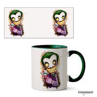 """Кружка """"Джокер из вселенной DC"""" (045, зеленая)"""