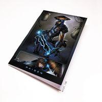 "Блокнот белый ""Mortal Kombat"" А5 (919)"
