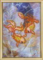 """Алмазная вышивка-мозаика """"Золотые рыбки"""""""