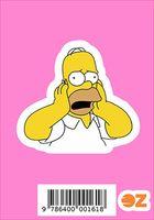 """Глянцевая наклейка """"Симпсоны. Гомер"""" (арт. 161)"""