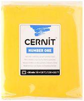 """Глина полимерная """"CERNIT Number One"""" (желтый; 250 г)"""