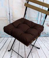 """Подушка на стул """"Monochrome"""" (40х40 см; коричневая)"""
