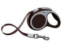 """Поводок-рулетка для собак """"Vario"""" (коричневый, размер XS, до 12 кг/3 м, арт. 12057)"""