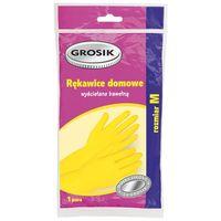 Перчатки резиновые (размер: M; 1 пара)