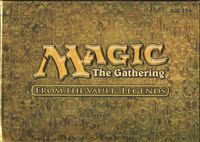 Magic the Gathering: From the Vault. Legends