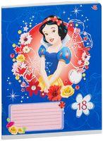 """Тетрадь в линейку """"Princess"""" (18 листов)"""