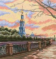 "Вышивка крестом ""Каналы Петербурга"" (арт. М423)"