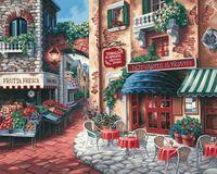 """Картина по номерам """"Вкус Италии"""" (400x500 мм; арт. MG078)"""