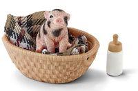 """Набор фигурок """"Мини-свинья с бутылочкой"""""""