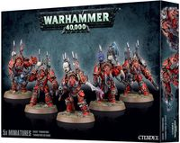 Warhammer 40.000. Chaos Space Marines. Terminators (43-19)