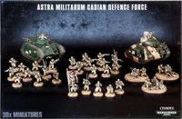"Набор миниатюр ""Warhammer 40.000. Astra Militarum Cadian Defence Force"" (47-25)"
