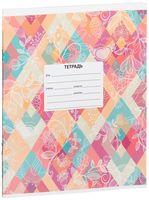 """Тетрадь в клетку """"Pattern & Flower"""" (12 листов; в ассортименте)"""