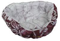 Лежак для животных (43х16 см; вишнево-глициниевый)