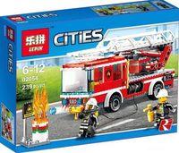 """Конструктор Сities """"Пожарная машина с лестницей"""""""