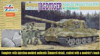 "ПТ-САУ ""Jagdtiger Porsche Production w/Zimmerit"" (масштаб: 1/35)"