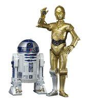 """Набор фигурок """"Звездные войны. Дроиды. R2-D2. C-3PO"""" (17 см)"""