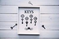 """Ключница """"Keys"""" (320х260х30 мм)"""