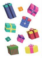 """Открытка """"Подарки"""""""