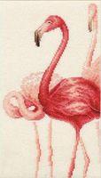 """Вышивка крестом """"Фламинго"""" (165х306 мм; арт. Ф-004)"""