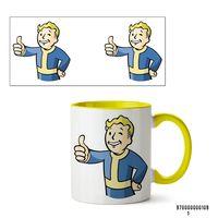 """Кружка """"Пип-бой из Fallout"""" (желтая)"""